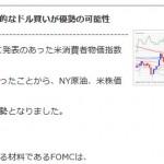 ■本日のFOMC、相場状況について